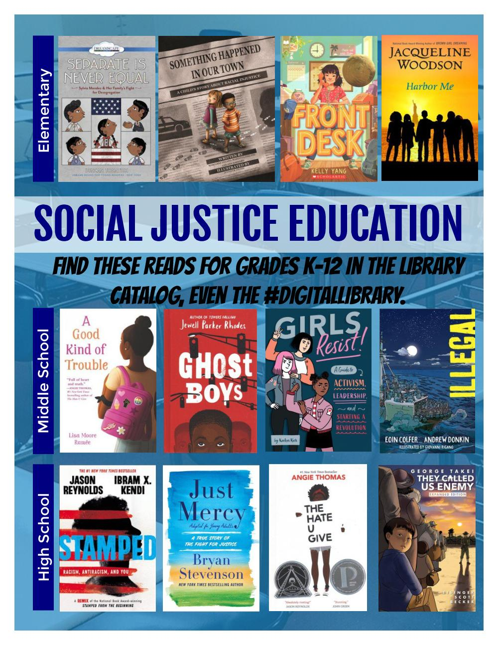 social justice reads