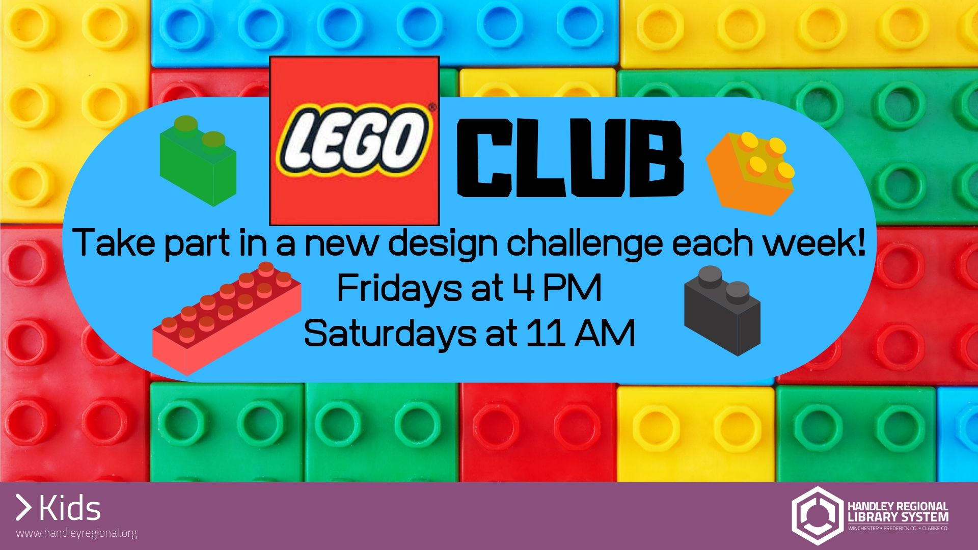Lego Club slide