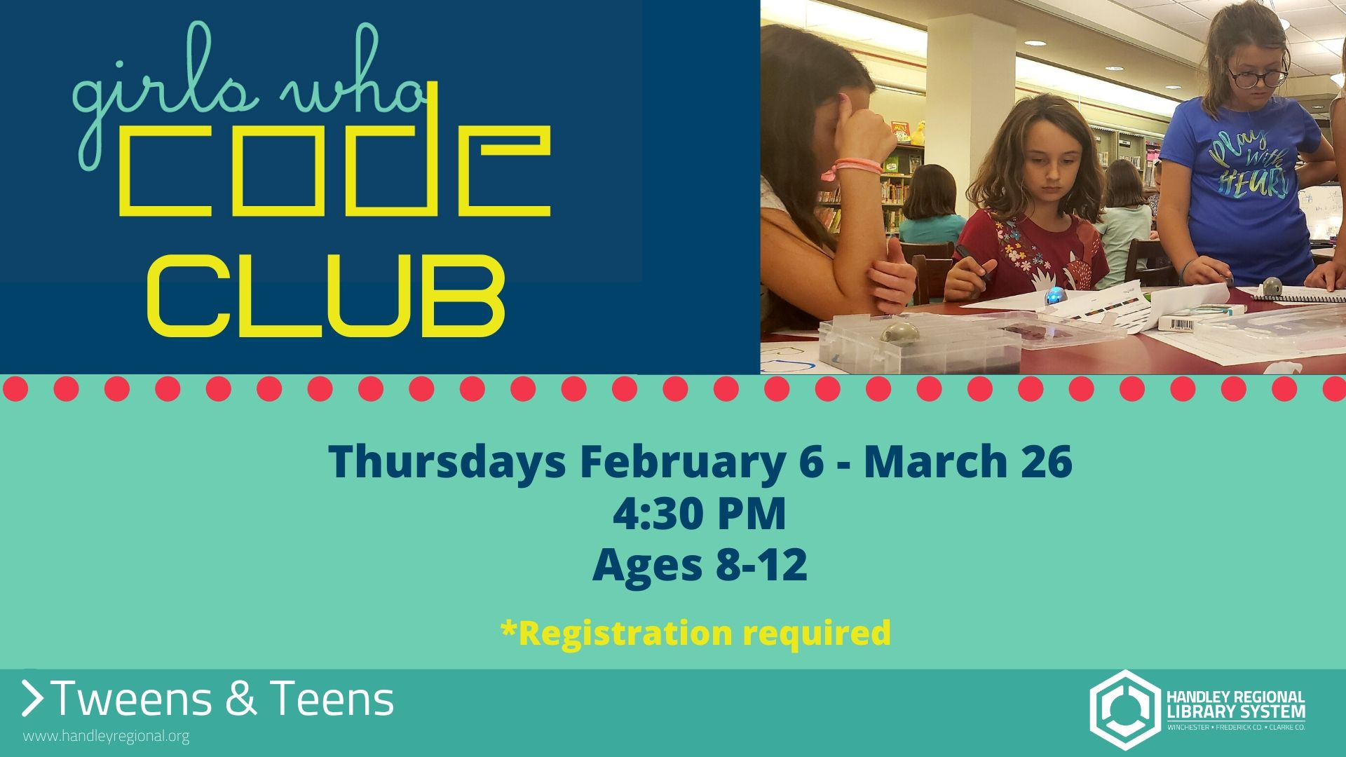 Girls Who Code Club slide