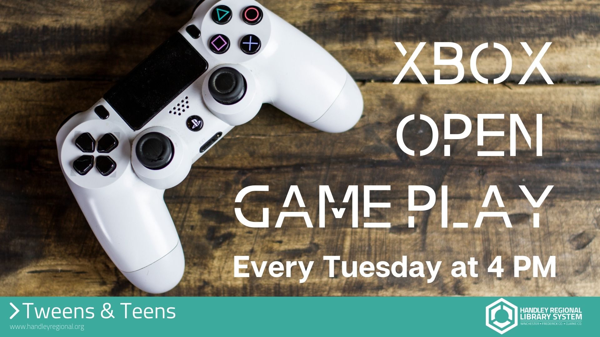 Xbox open game play slide