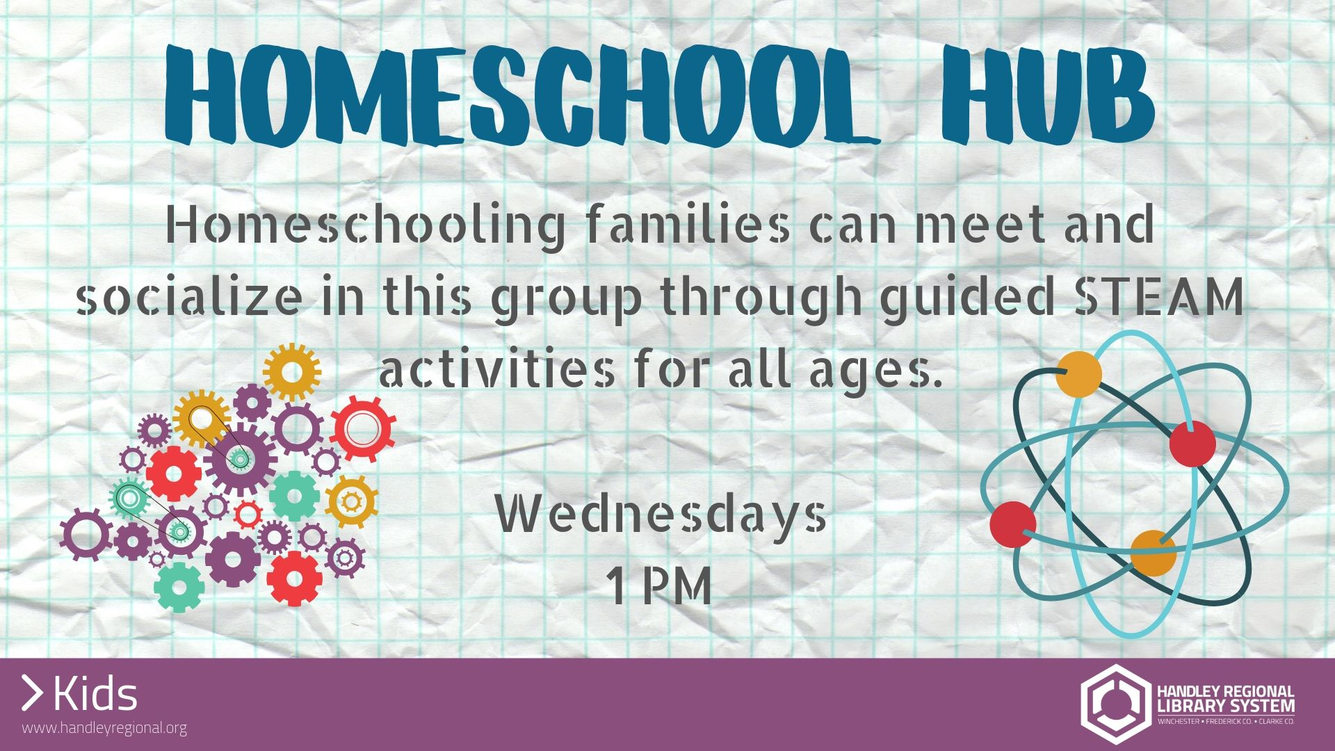 Homeschool Hub slide
