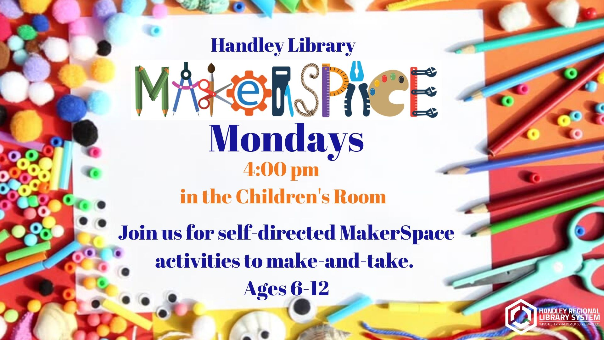 Makerspace Monday slide