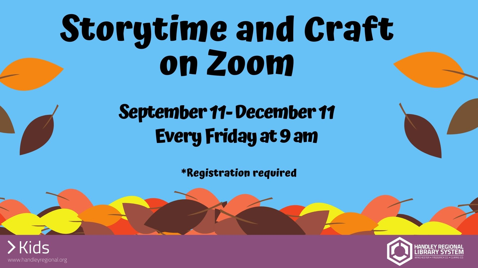 Storytime and Craft slide