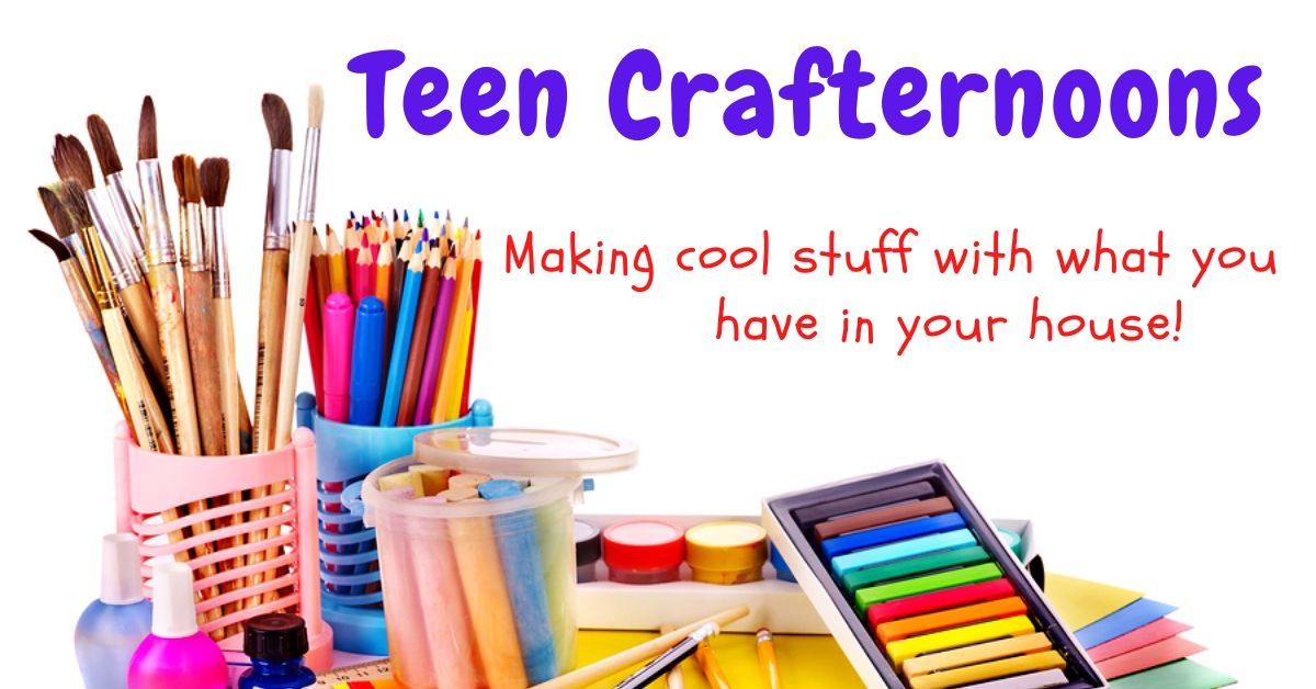 Teen Crafternoons slide