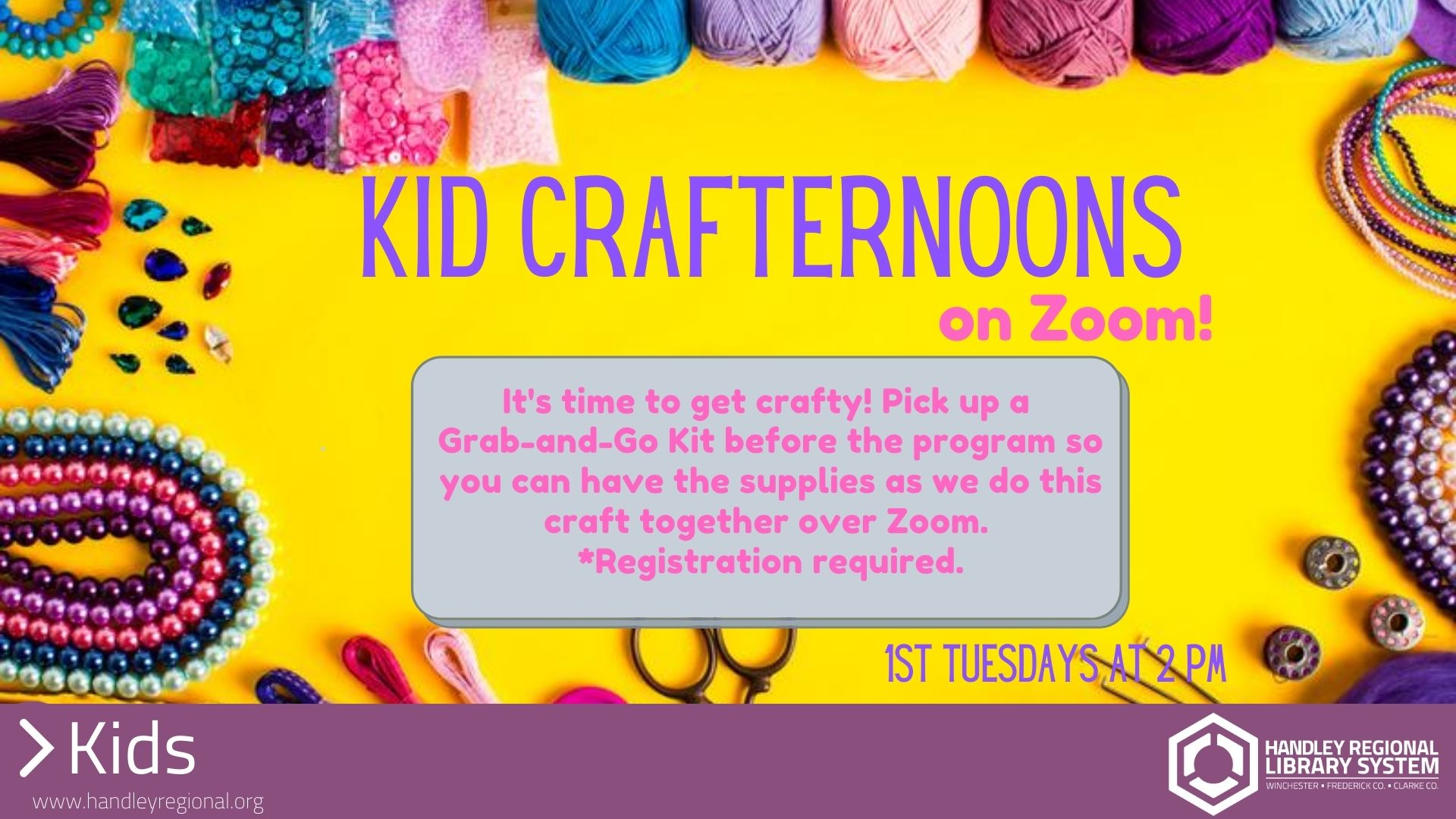 Kid Crafternoons slide