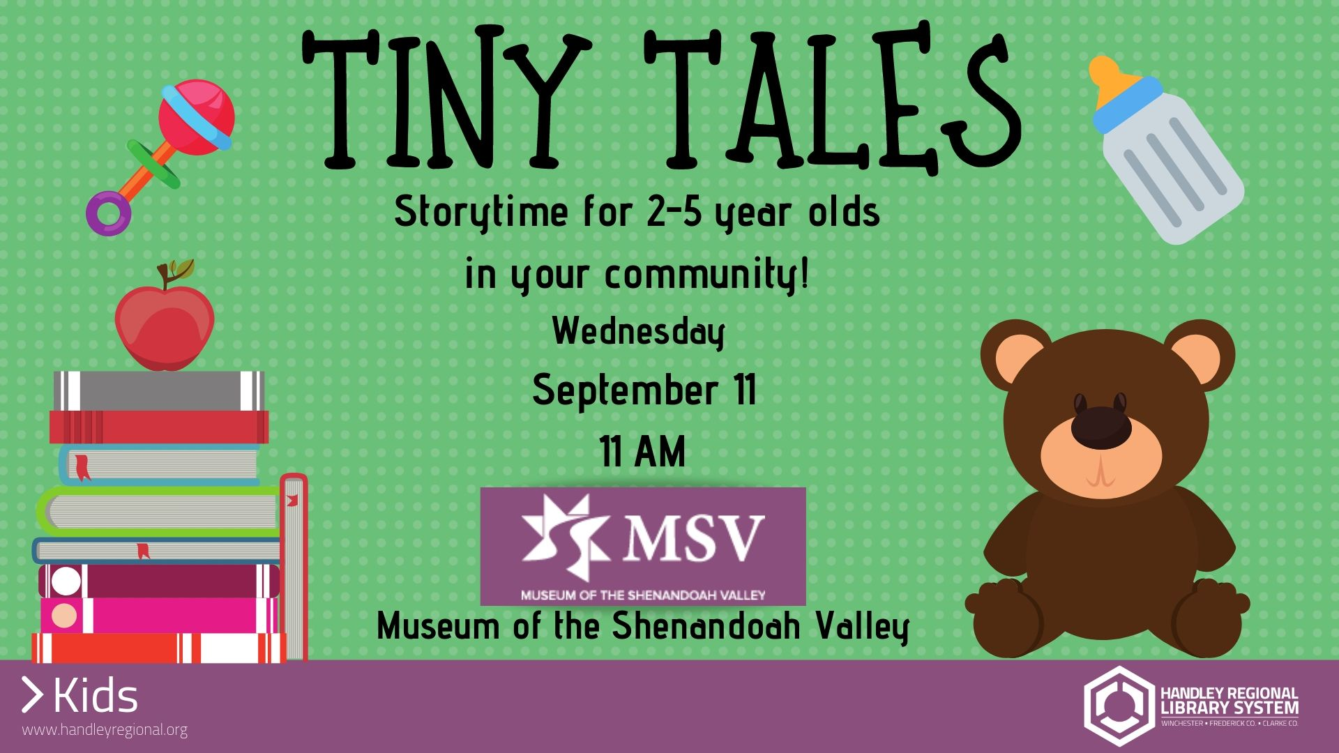 Tiny Tales slide