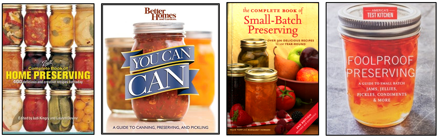 Featured canning books