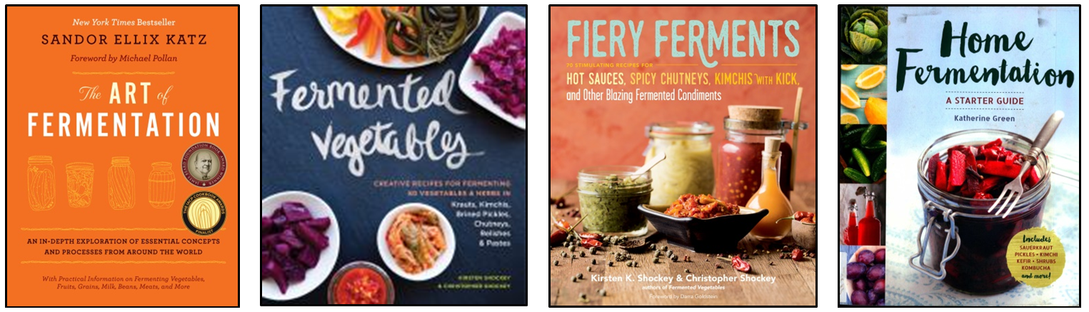 Fermenting featured books
