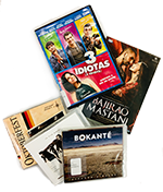Foreign language DVDs and CDs