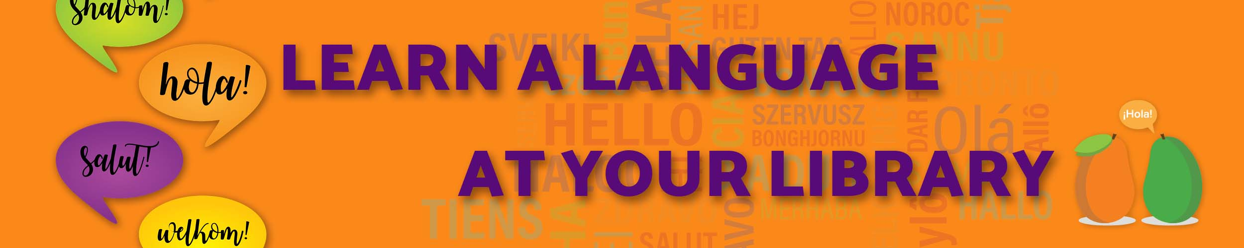 language learning page header