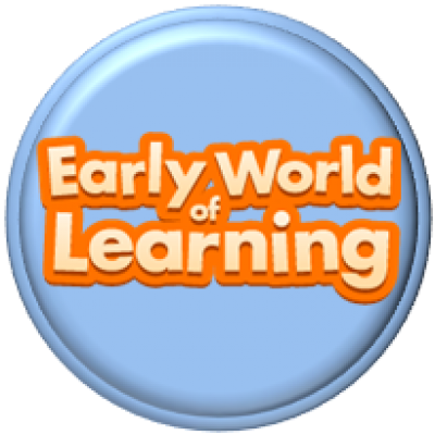 early world of learning button