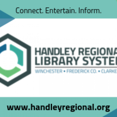handley regional library system library card: connect, entertain, inform