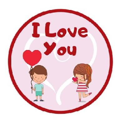 I Love You Storytime Badge