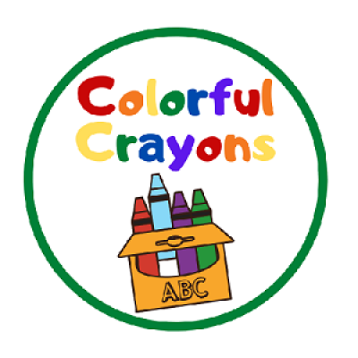 Colorful Crayons Badge
