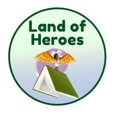 Land of Heroes Pre-Reader Badge