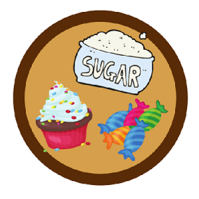 Land of Sugar and Sweets Reader Badge