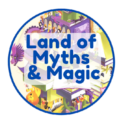 Land of Myths Pre-Reader Badge