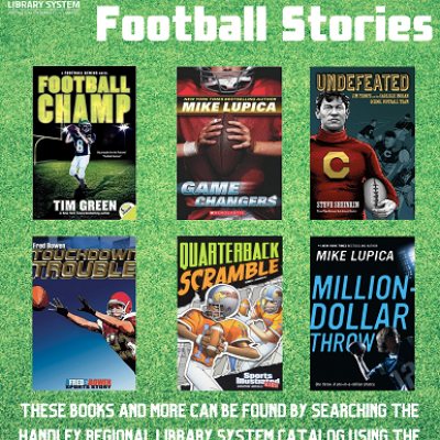 Middle Grade Football Books