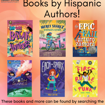Middle Grade Hispanic Heritage Book Covers