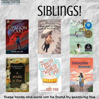 Middle Grade Sibling Book Covers