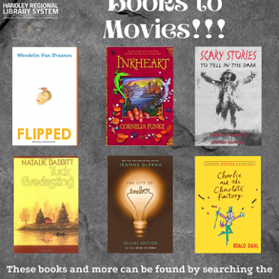 Middle Grade Books to Movies Covers