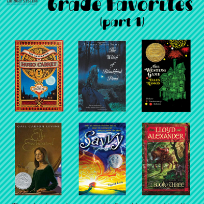 Elyse's Favorite Middle Grade Book Covers