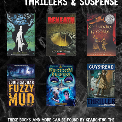 Middle Grade Thrillers & Suspense Book Covers