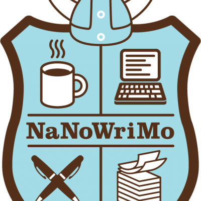 nanowrimo shield logo
