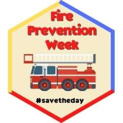Fire Prevention Week Badge