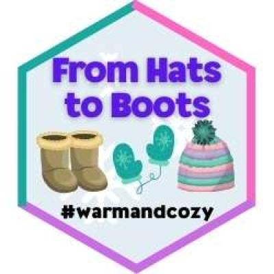 hats to boots badge