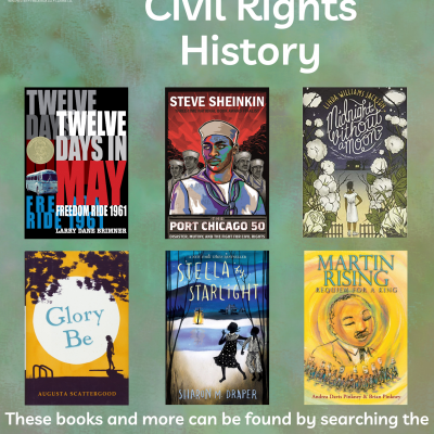 Middle Grade Civil Rights Book Covers
