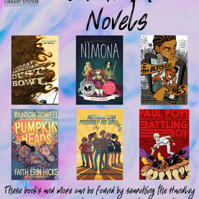YA Graphic Novel Book Covers
