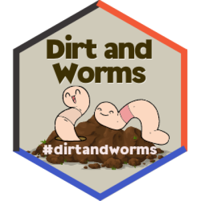 Dirt and Worms Badge
