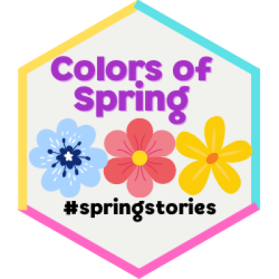 Colors of Spring Badge
