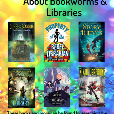 Middle Grade Bookworms Book Covers