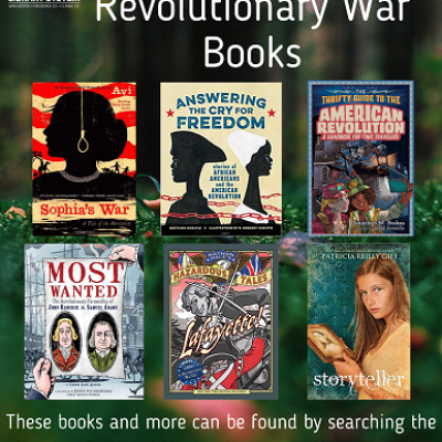 Middle Grade Revolutionary War Book Covers