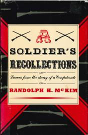 A Soldier's Recollections cover image