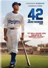 cover image for 42: The Jackie Robinson Story