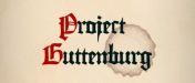 Project Guttenburg Logo