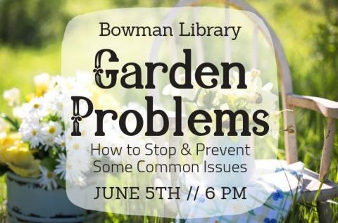 garden problems june 5th