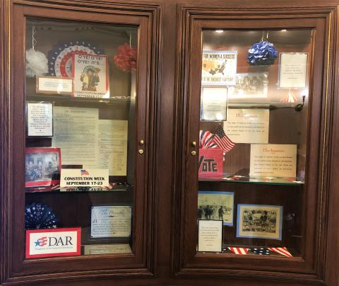 constitution week display