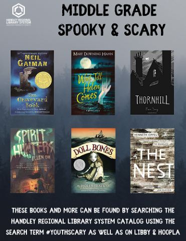Middle Grade Spooky Book Covers