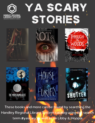 YA Scary Stories Book Covers