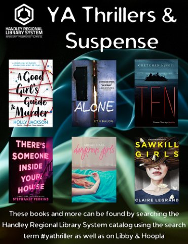 YA Thrillers & Suspense Book Covers