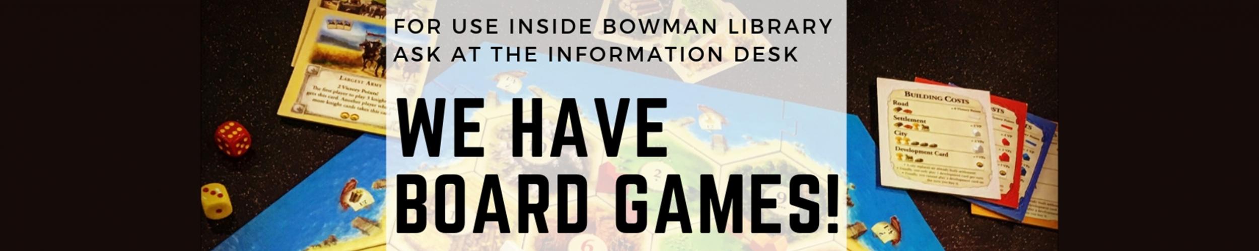 Board Games slide