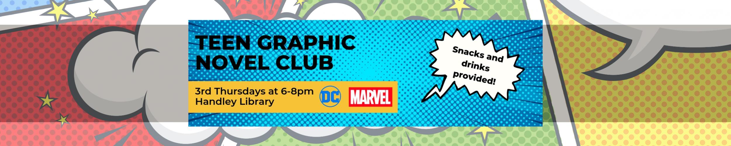 Teen graphic novel slide