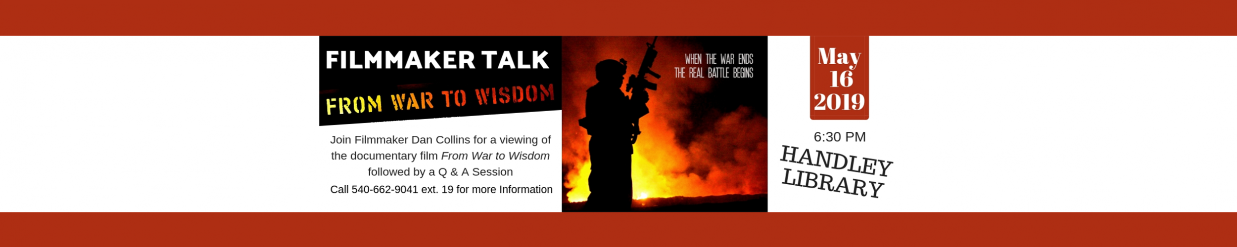 From War to Wisdom slide