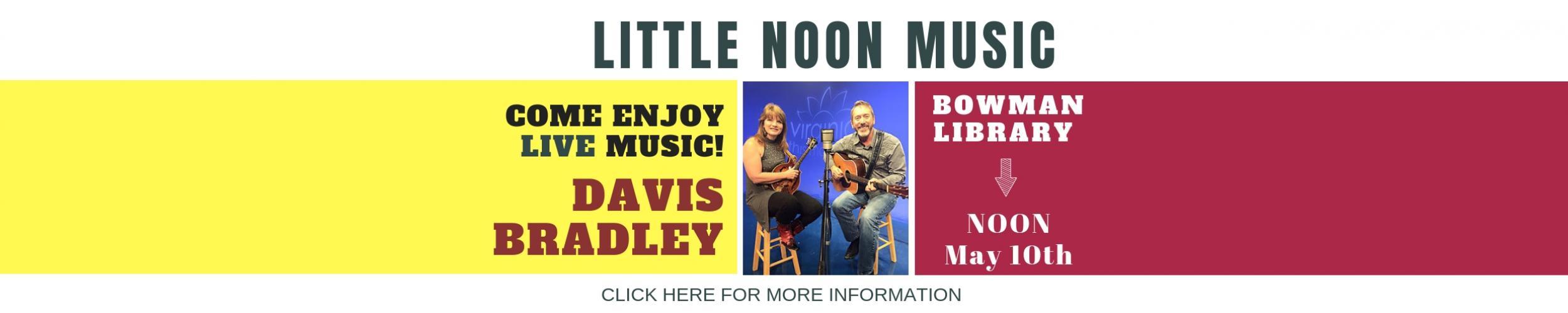 LITTLE NOON MUSIC DAVIS BRADLEY