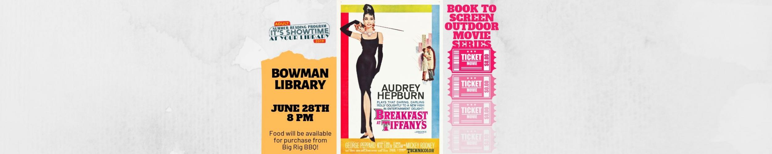 breakfast at tiffany's outdoor movie web banner