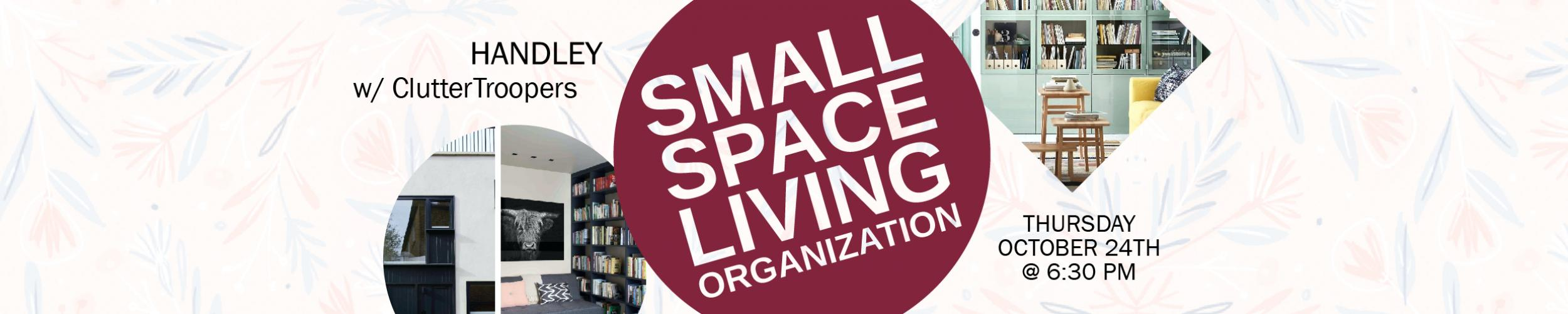 Organization w/ cluttertroopers workshop
